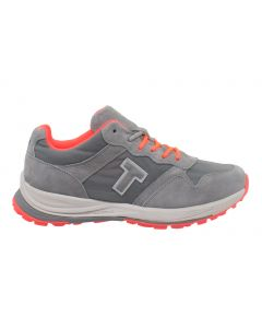T-Shoes - Strolling Sport W TS010 05  Grey-Coral